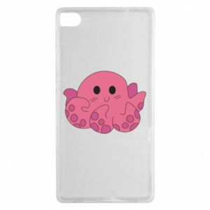 Etui na Huawei P8 Cute octopus