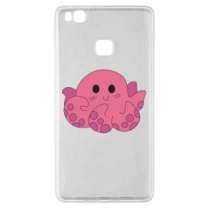 Etui na Huawei P9 Lite Cute octopus