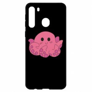 Etui na Samsung A21 Cute octopus