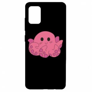 Etui na Samsung A51 Cute octopus