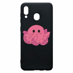 Phone case for Samsung A20 Cute octopus