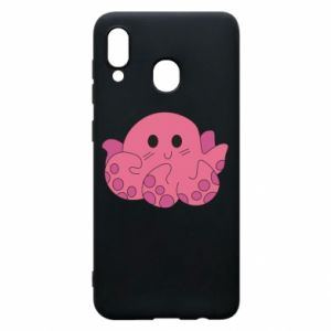 Phone case for Samsung A30 Cute octopus