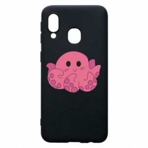 Phone case for Samsung A40 Cute octopus