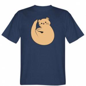 Koszulka męska Cute otter