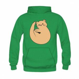 Bluza z kapturem dziecięca Cute otter