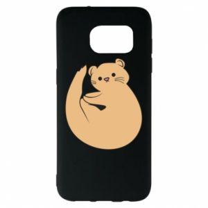 Etui na Samsung S7 EDGE Cute otter