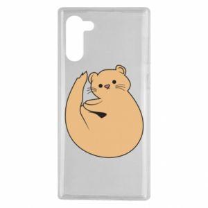 Etui na Samsung Note 10 Cute otter