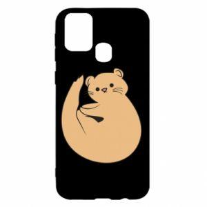 Etui na Samsung M31 Cute otter