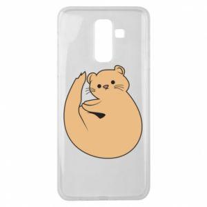 Etui na Samsung J8 2018 Cute otter