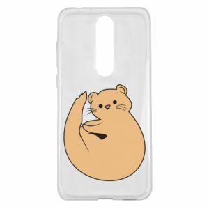 Etui na Nokia 5.1 Plus Cute otter