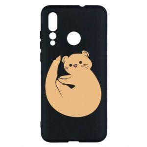 Etui na Huawei Nova 4 Cute otter
