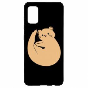 Etui na Samsung A41 Cute otter