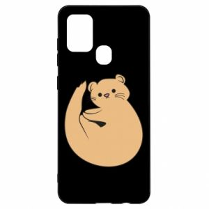 Etui na Samsung A21s Cute otter