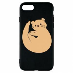 Etui na iPhone SE 2020 Cute otter