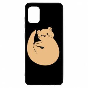 Etui na Samsung A31 Cute otter