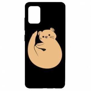 Etui na Samsung A51 Cute otter