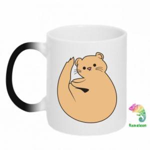 Kubek-magiczny Cute otter