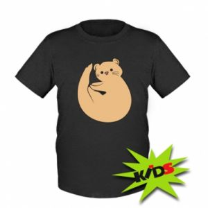 Koszulka dziecięca Cute otter