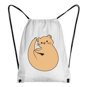 Plecak-worek Cute otter