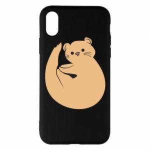 Etui na iPhone X/Xs Cute otter