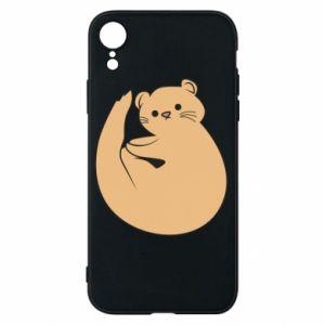 Etui na iPhone XR Cute otter