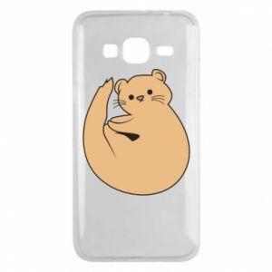 Etui na Samsung J3 2016 Cute otter