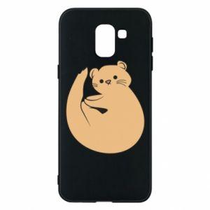 Etui na Samsung J6 Cute otter