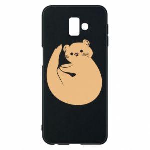 Etui na Samsung J6 Plus 2018 Cute otter