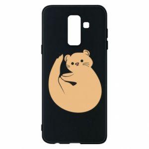 Etui na Samsung A6+ 2018 Cute otter