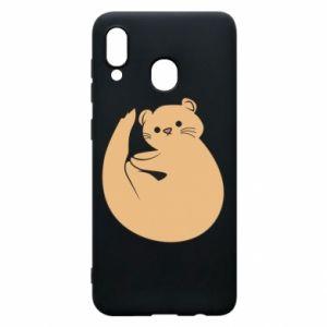 Etui na Samsung A20 Cute otter