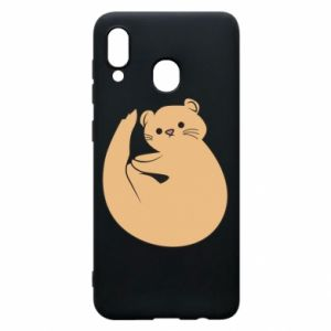 Etui na Samsung A30 Cute otter