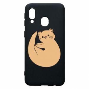 Etui na Samsung A40 Cute otter