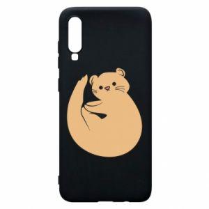 Etui na Samsung A70 Cute otter