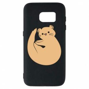 Etui na Samsung S7 Cute otter
