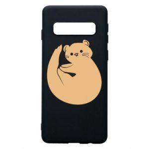 Etui na Samsung S10 Cute otter