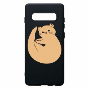 Etui na Samsung S10+ Cute otter
