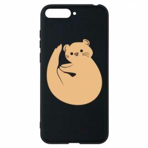 Etui na Huawei Y6 2018 Cute otter