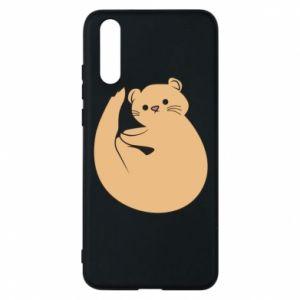Etui na Huawei P20 Cute otter
