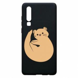 Etui na Huawei P30 Cute otter