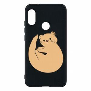 Etui na Mi A2 Lite Cute otter