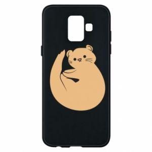 Etui na Samsung A6 2018 Cute otter