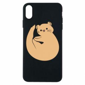 Etui na iPhone Xs Max Cute otter