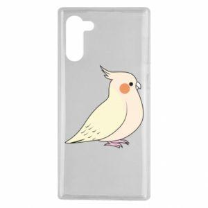 Etui na Samsung Note 10 Cute parrot