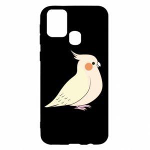 Etui na Samsung M31 Cute parrot
