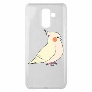 Etui na Samsung J8 2018 Cute parrot
