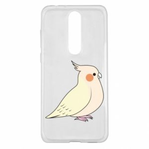Etui na Nokia 5.1 Plus Cute parrot