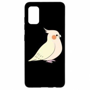 Etui na Samsung A41 Cute parrot