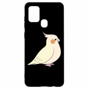 Etui na Samsung A21s Cute parrot