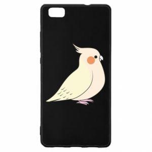 Etui na Huawei P 8 Lite Cute parrot