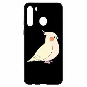 Etui na Samsung A21 Cute parrot